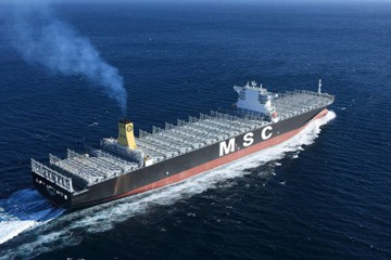 Salalah to berth largest MSC container ship