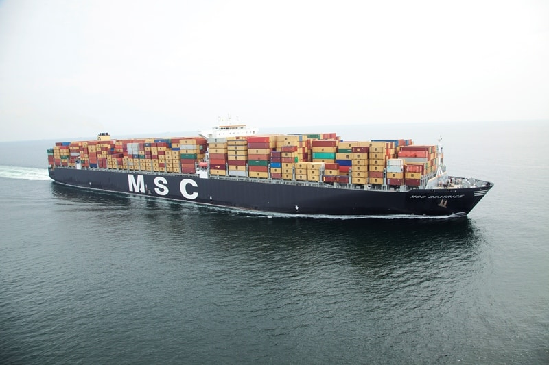 MSC to lease five mega vessels