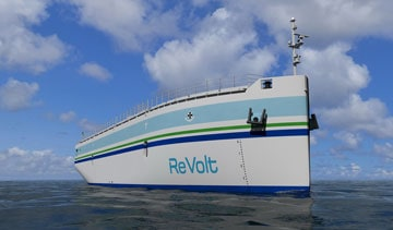 Battery-powered vessel could offer short sea shipping solutions