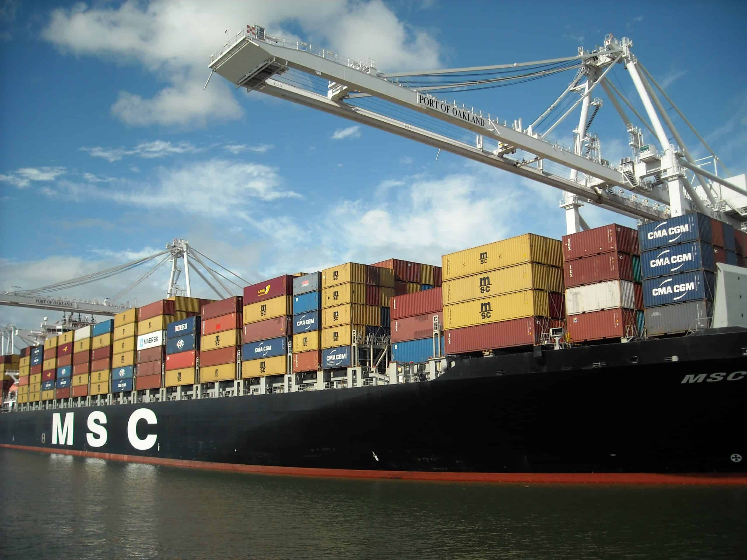 MSC announces 2M service itinerary with Maersk