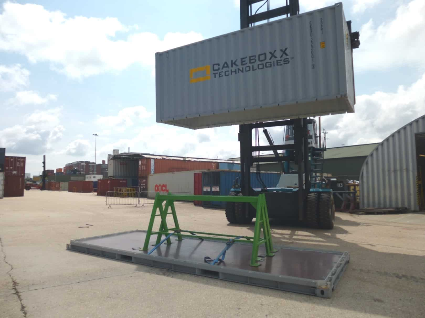 Pentalver scoops UK exclusivity for CakeBoxx containers