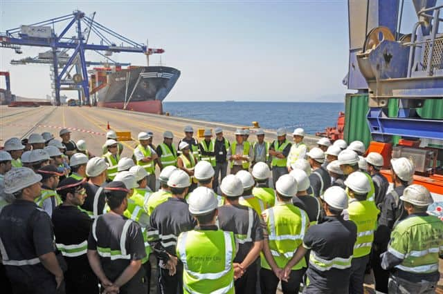 "APMT denies union claims of ""victory"" at Aqaba Container Terminal"