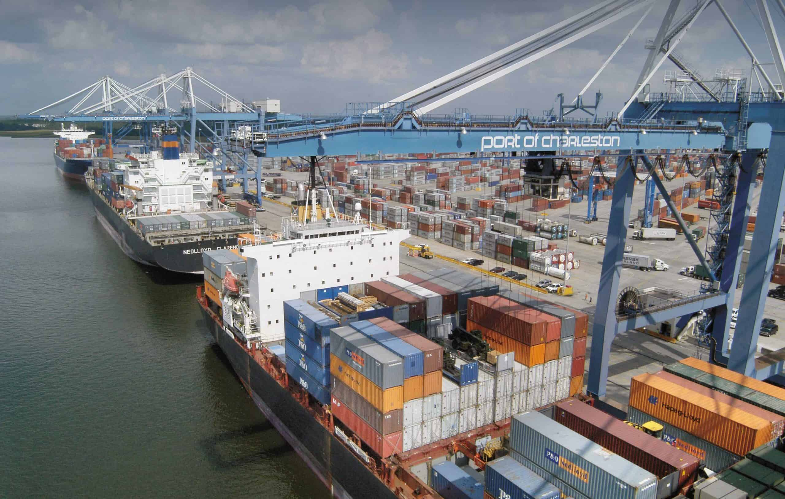 Charleston harbour deepening project reaches key milestone