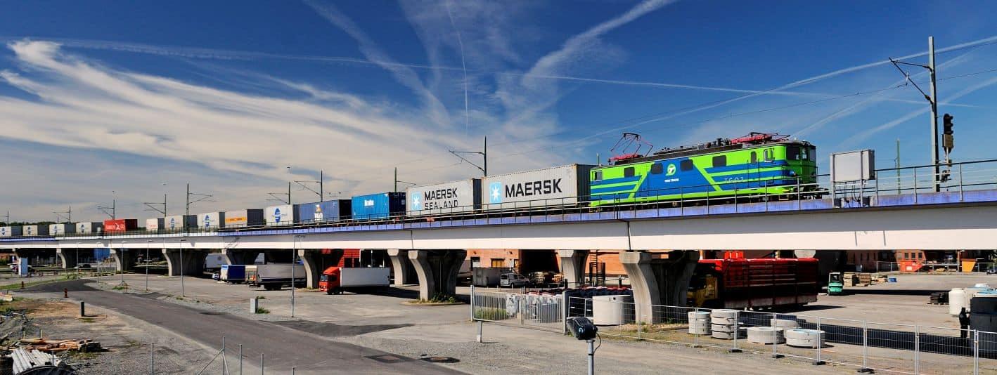 APMT Gothenburg tests longer trains