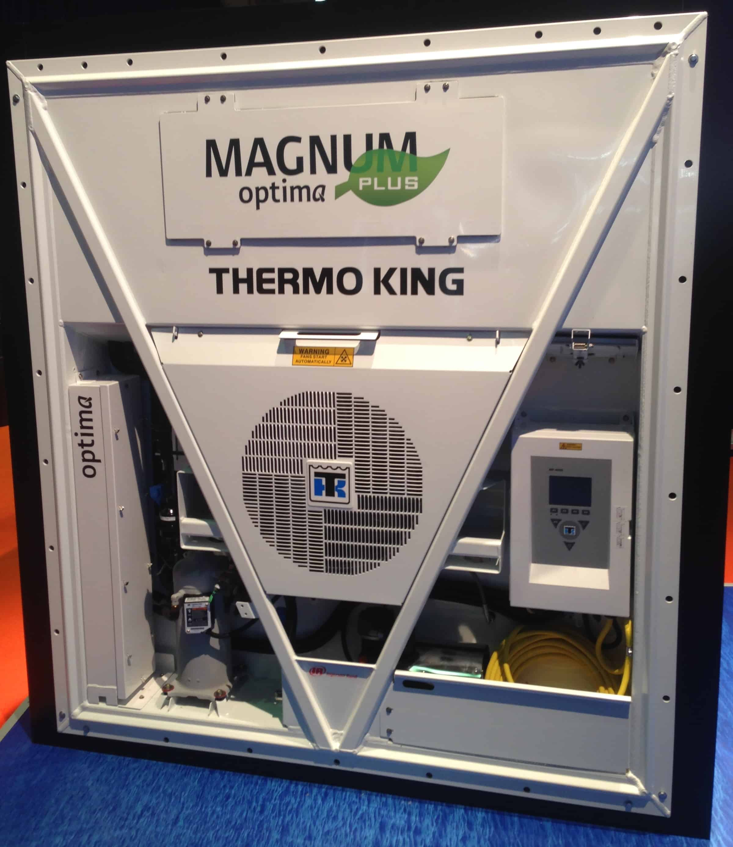 Thermo King unveils new reefer systems at Intermodal Europe