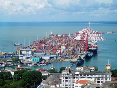 Sri Lankan opposition party want to scrap Colombo's port city