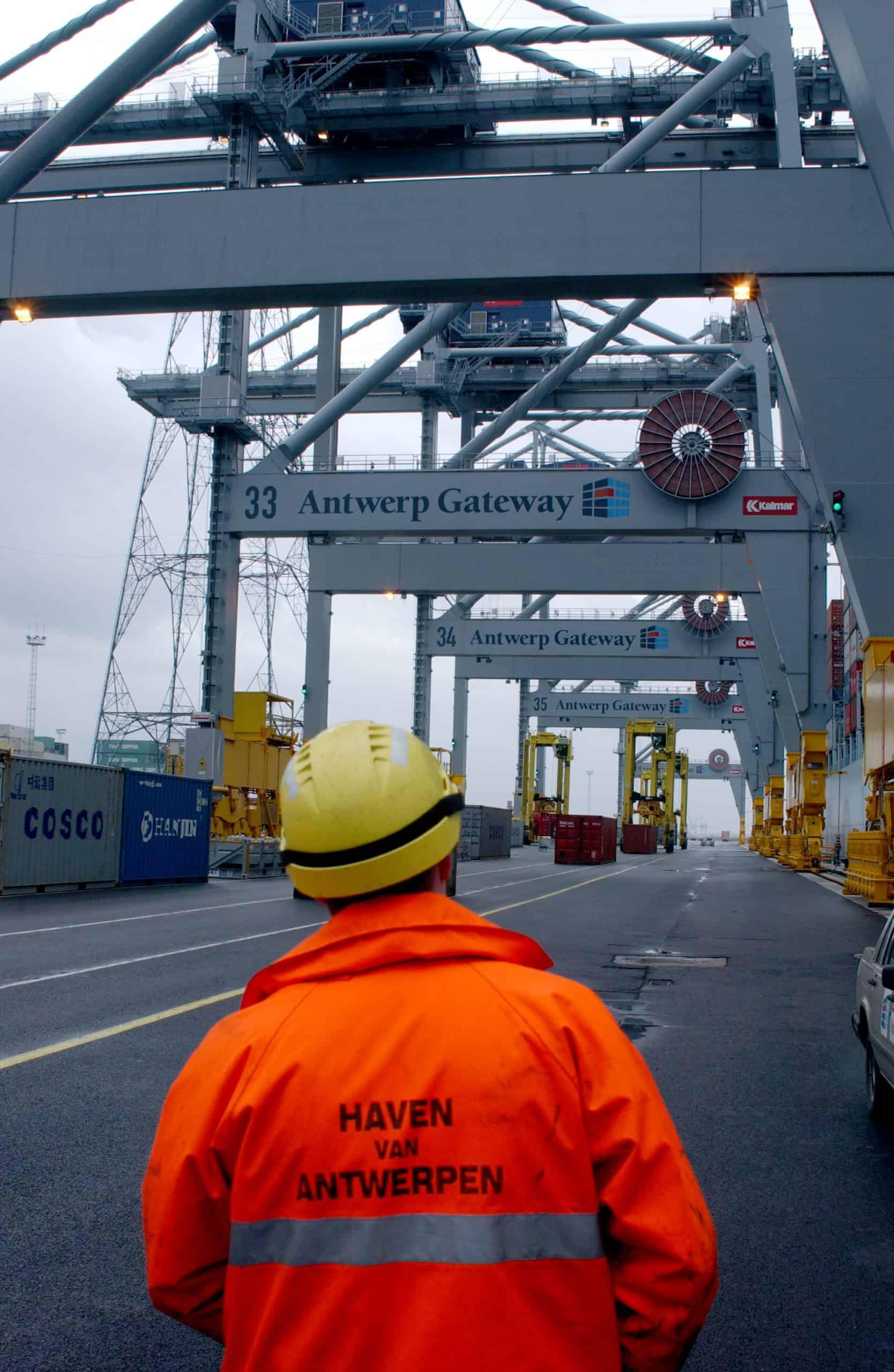 General strike in Belgium hits ports including Antwerp