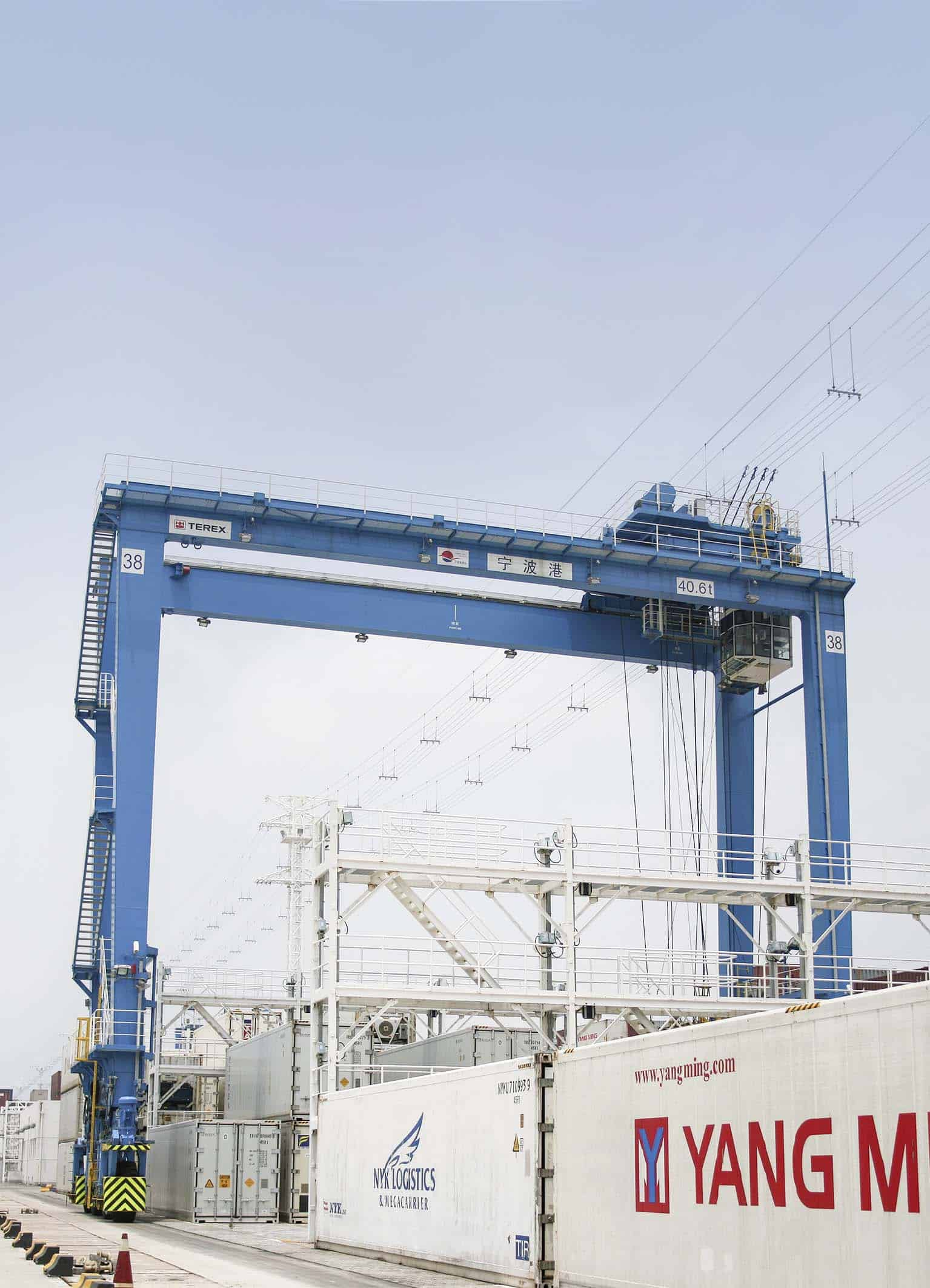 Additional Terex E-RTGs bound for Ningbo