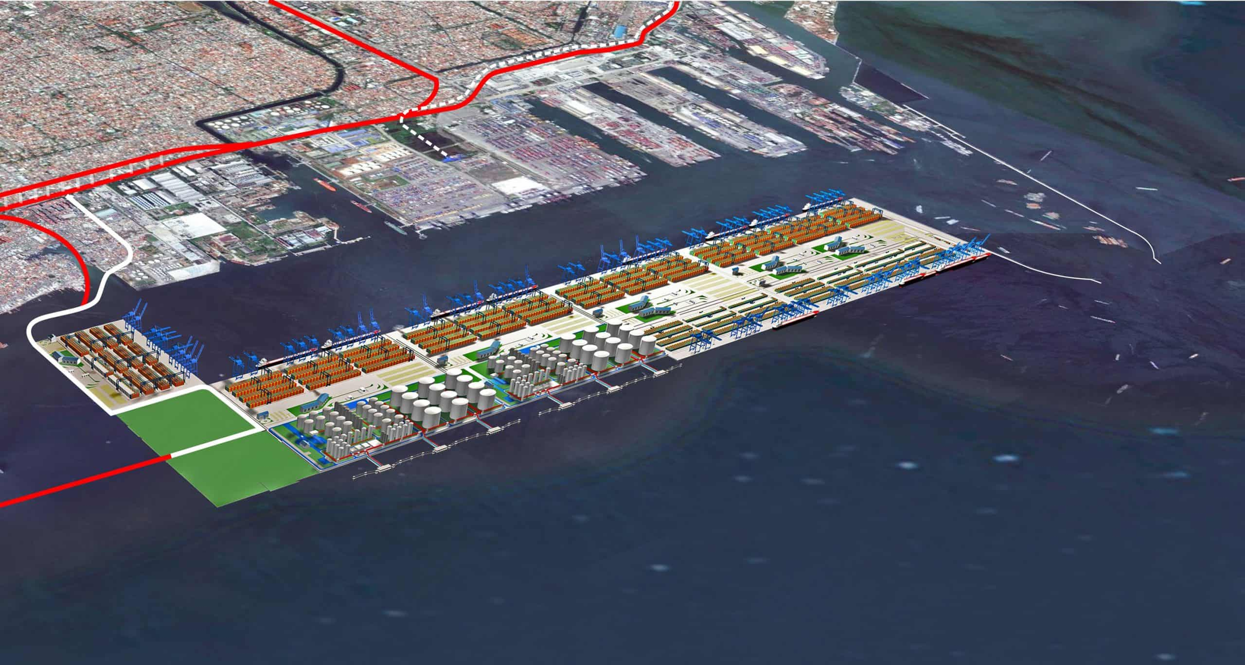 New container terminal set to be built at Tanjung Priok Port