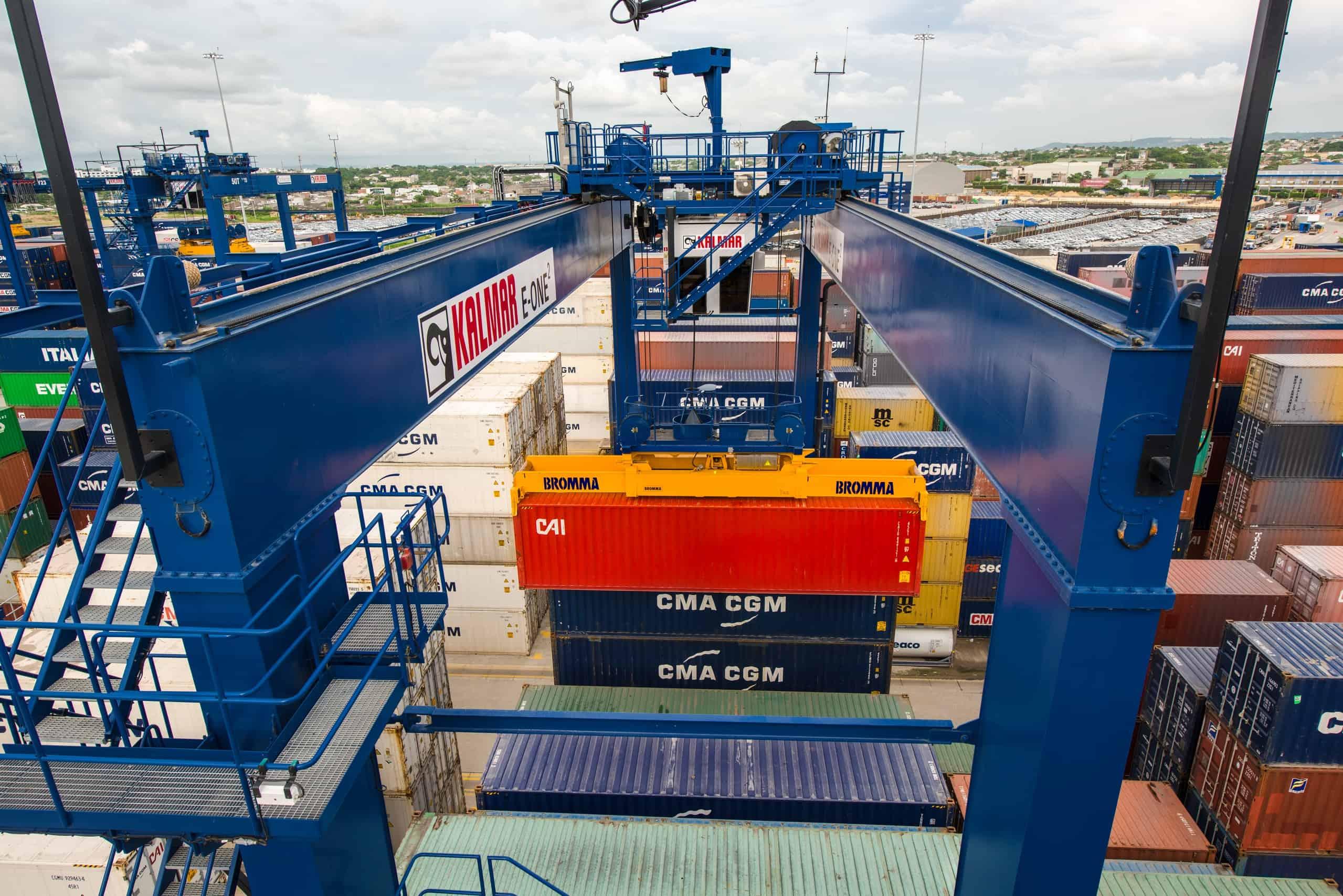 Gdynia Container Terminal orders Kalmar RTGs
