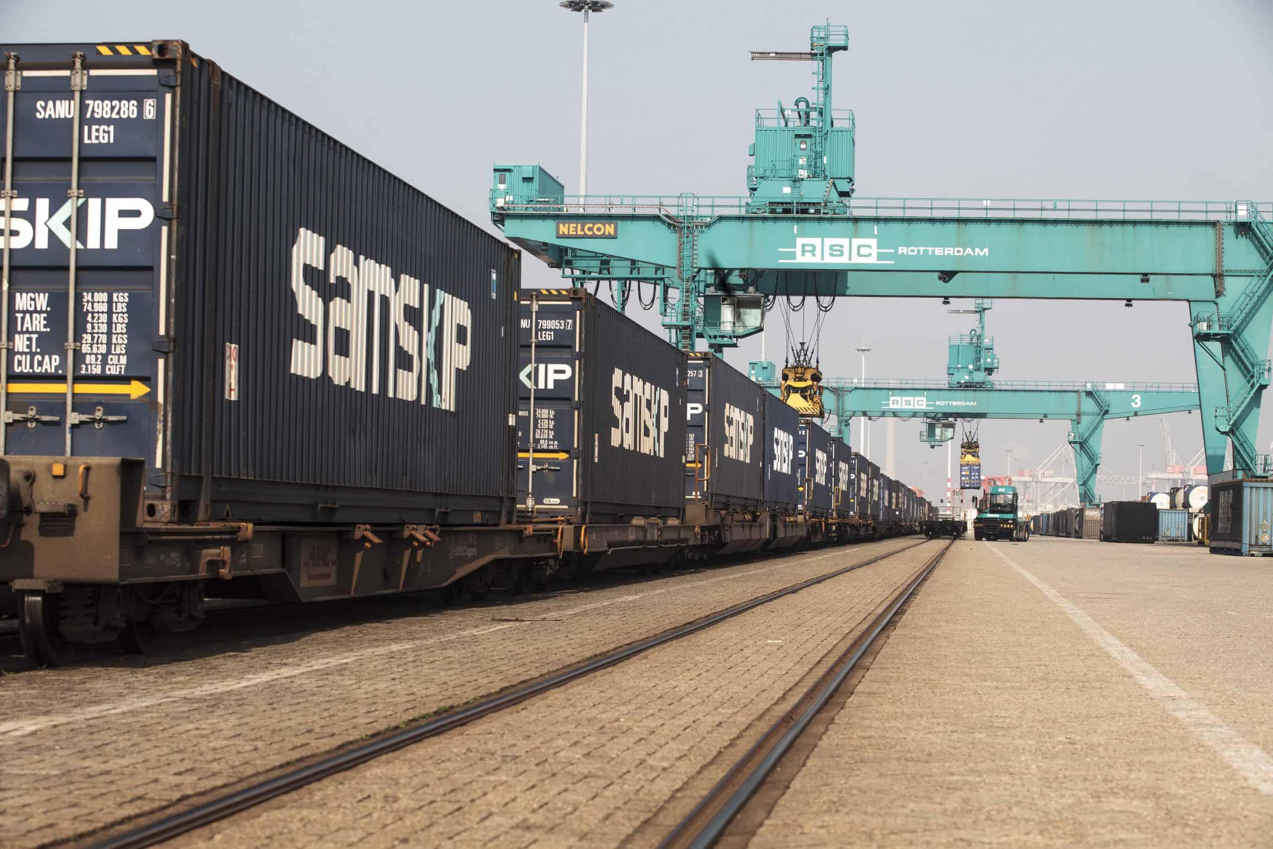 Samskip launches dedicated intermodal rail service between Rotterdam and Italy