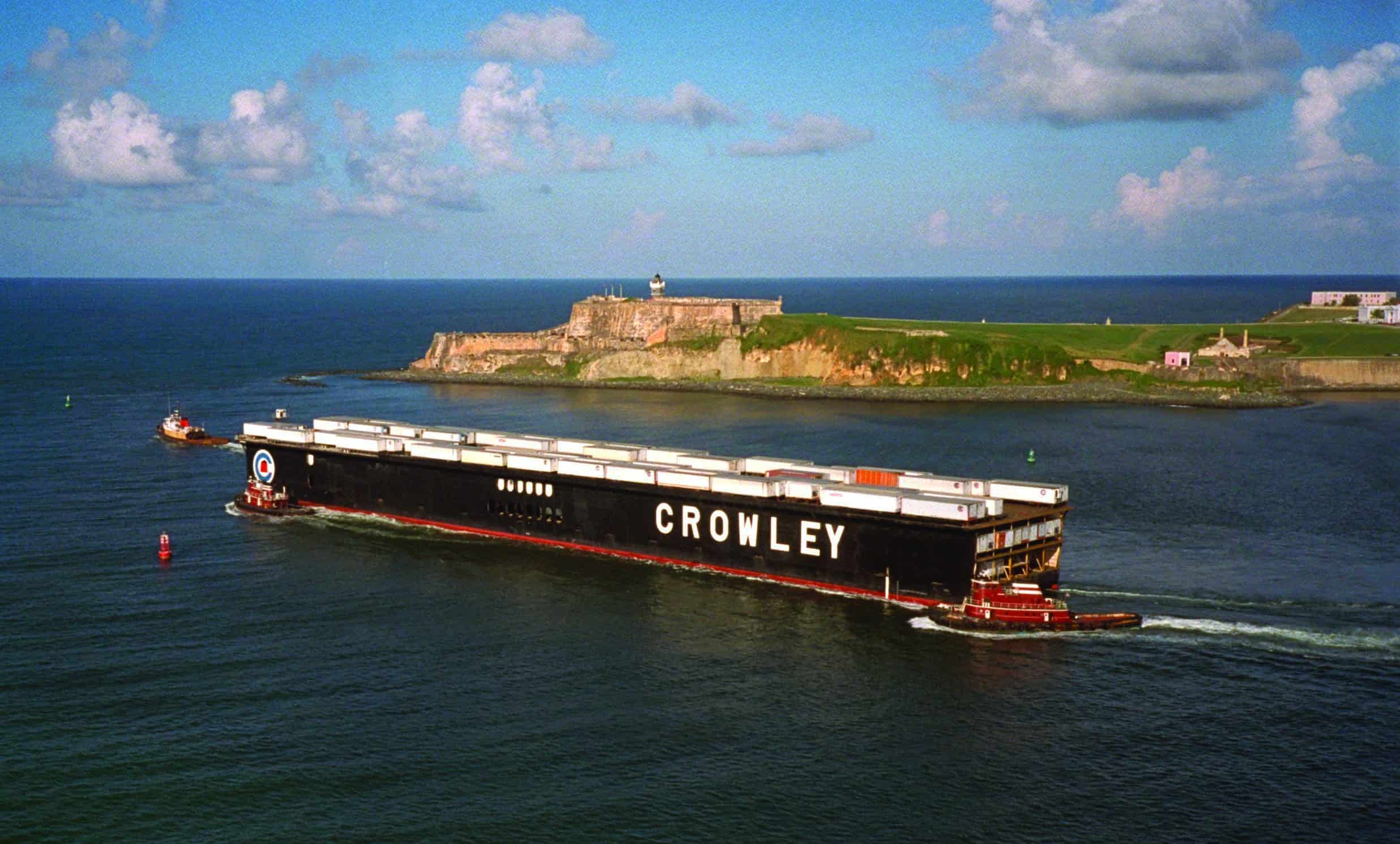 Crowley to increase capacity, equipment and frequency to Puerto Rico