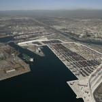 Imports were up and exports were down at Long Beach