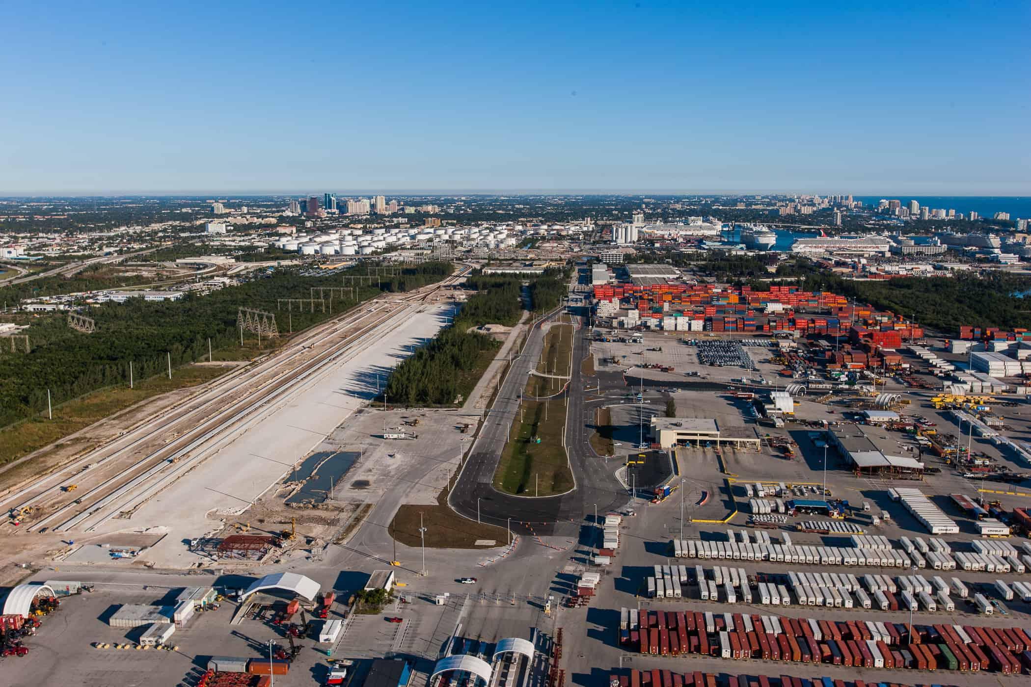 Port Everglades to strengthen its landside connections