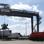 Last year, 26,450 units were handled at Kiel rail terminals