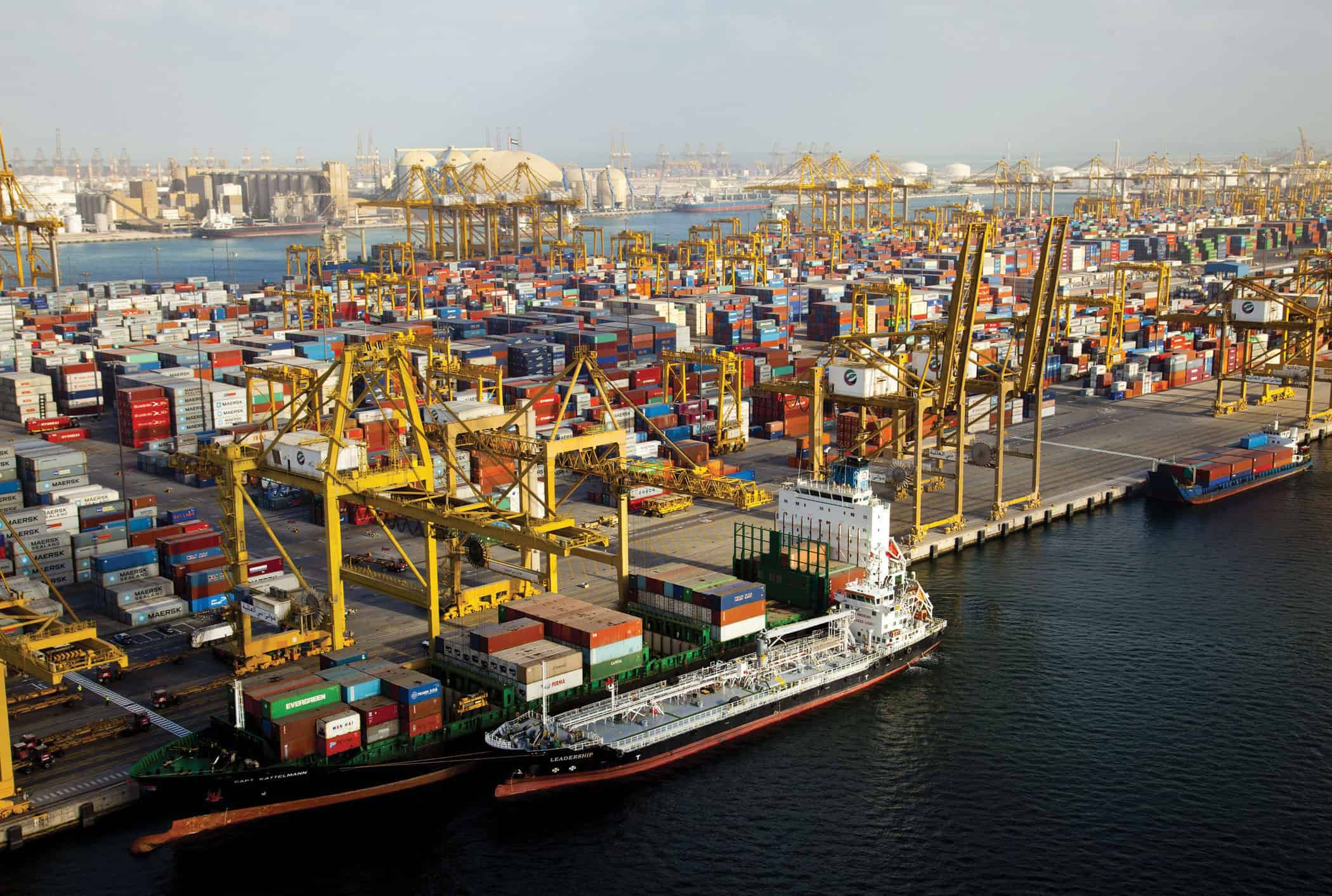 DP World's volumes up again in 2014
