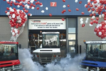Terberg produces 25,000th vehicle