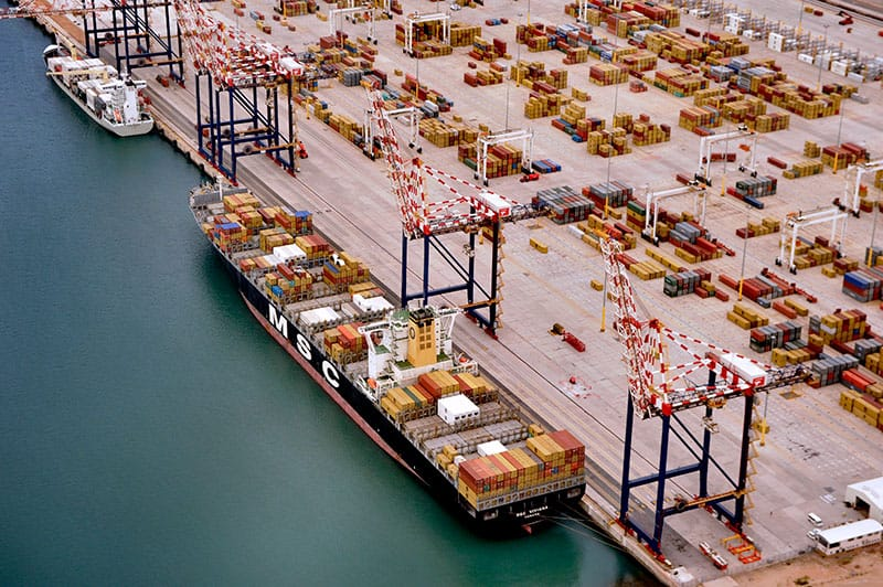 African port doubles in size