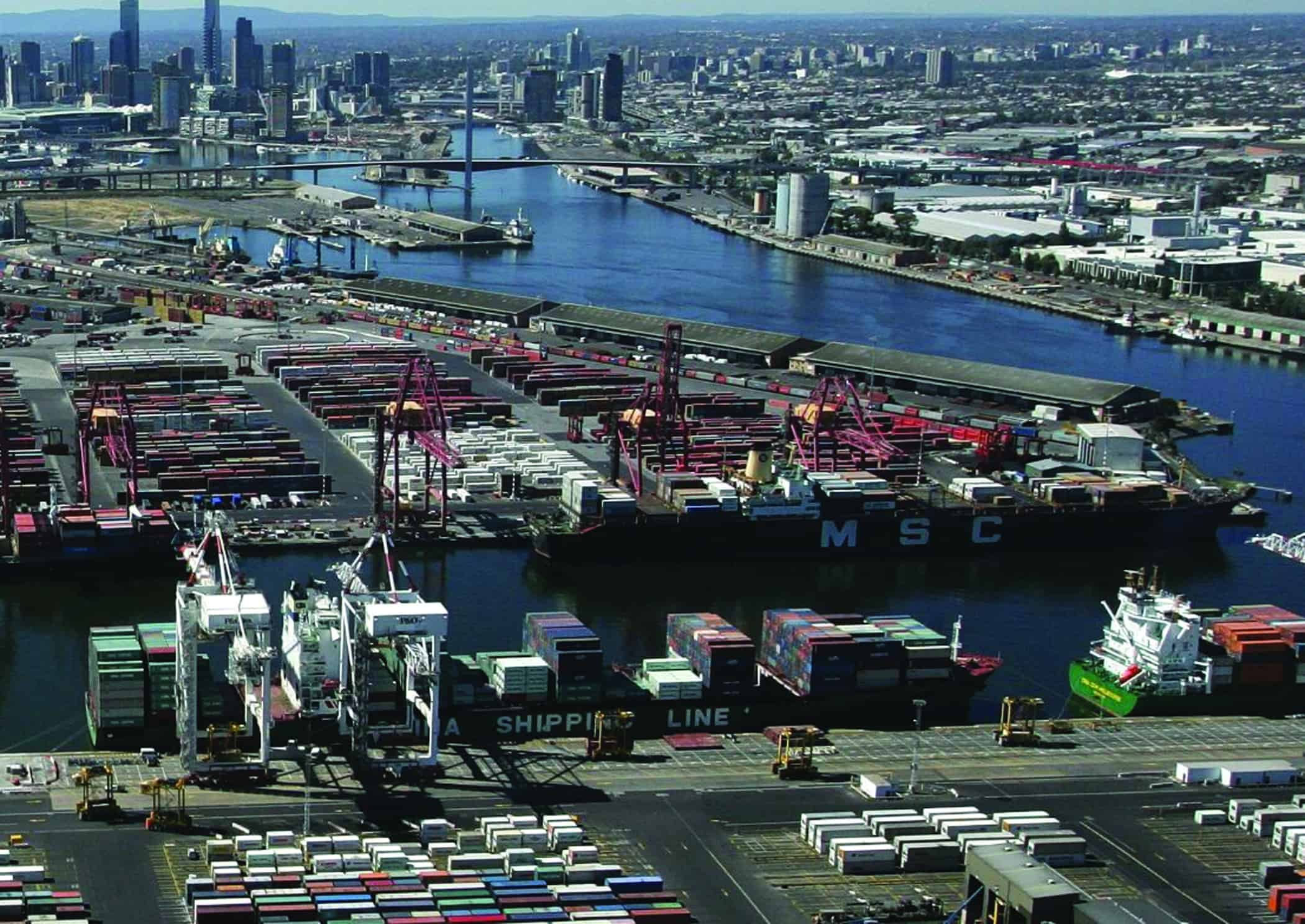 DP World faces huge rent increase at the Port of Melbourne