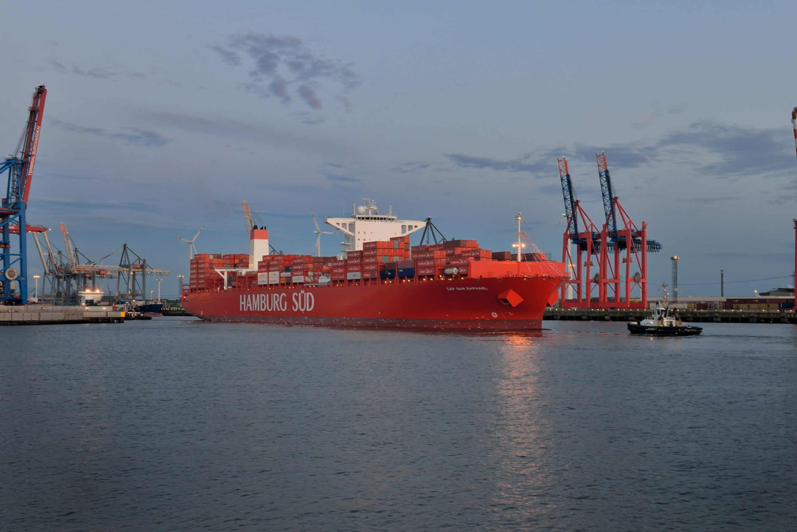 Hamburg Süd explains 'less than satisfactory' performance