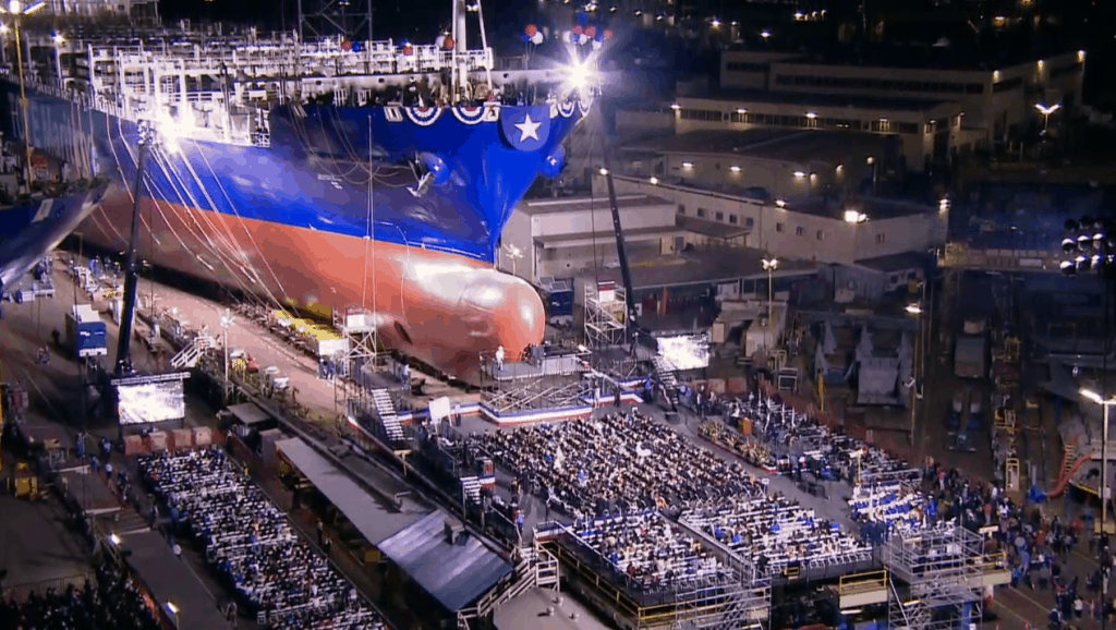 World's first LNG powered container ship launched