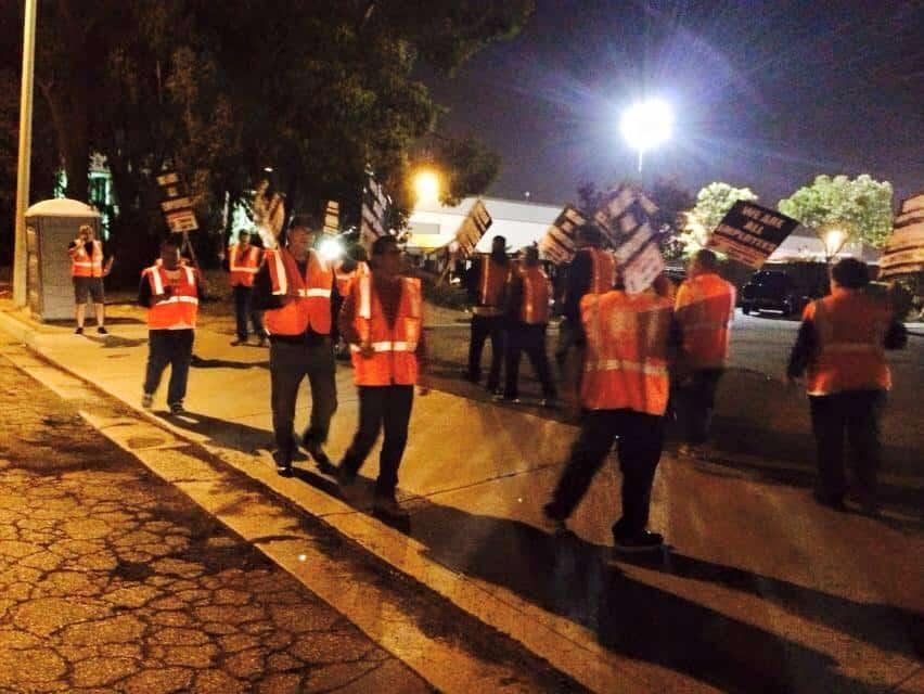 LA and Long Beach continue as normal despite truckers strike