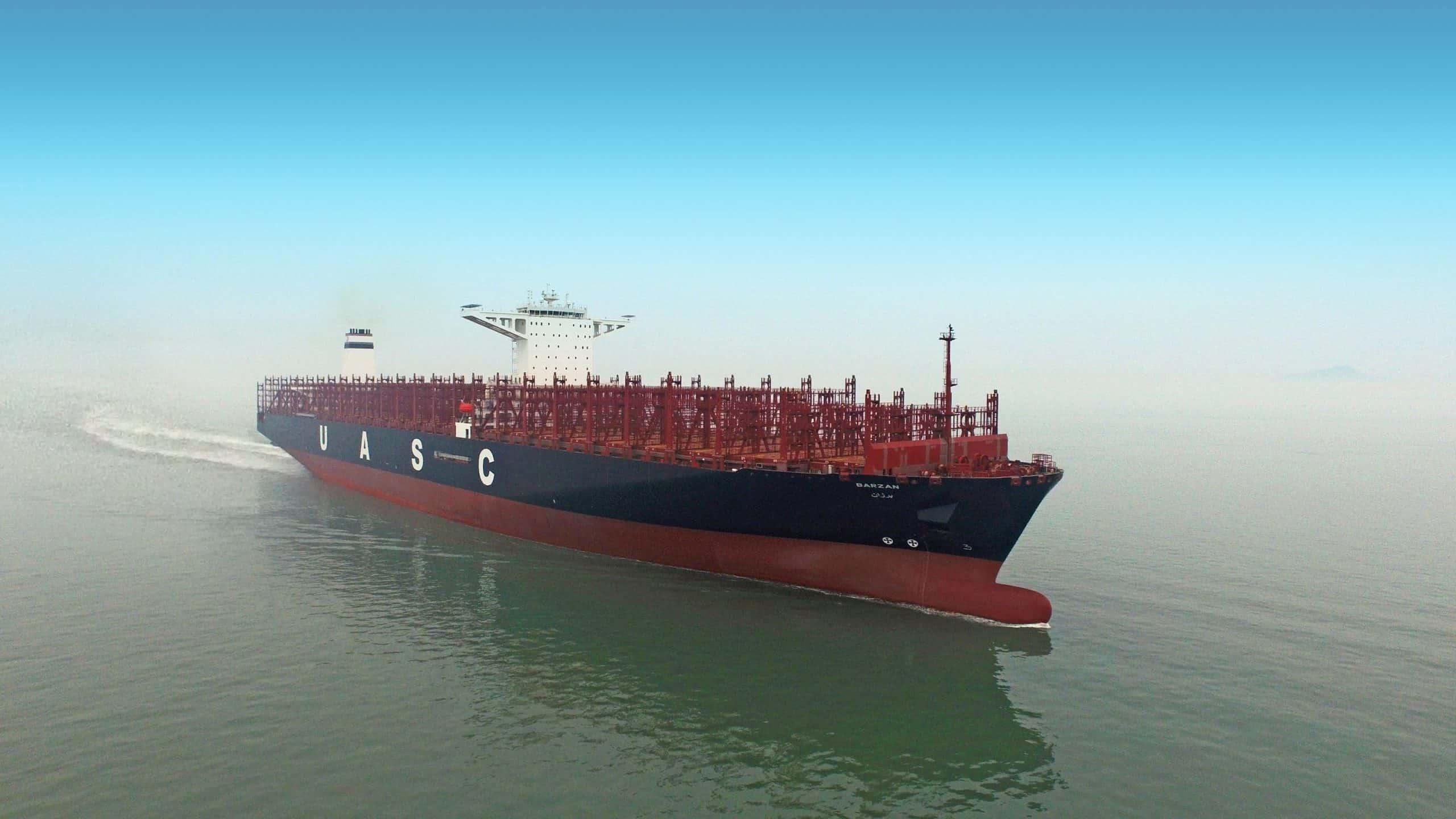 UASC names first LNG-ready 18,800 teu vessel