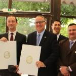 The Memorandum of Understanding was signed at Intermodal South America