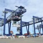 The rail cranes were co-financed by the European Union