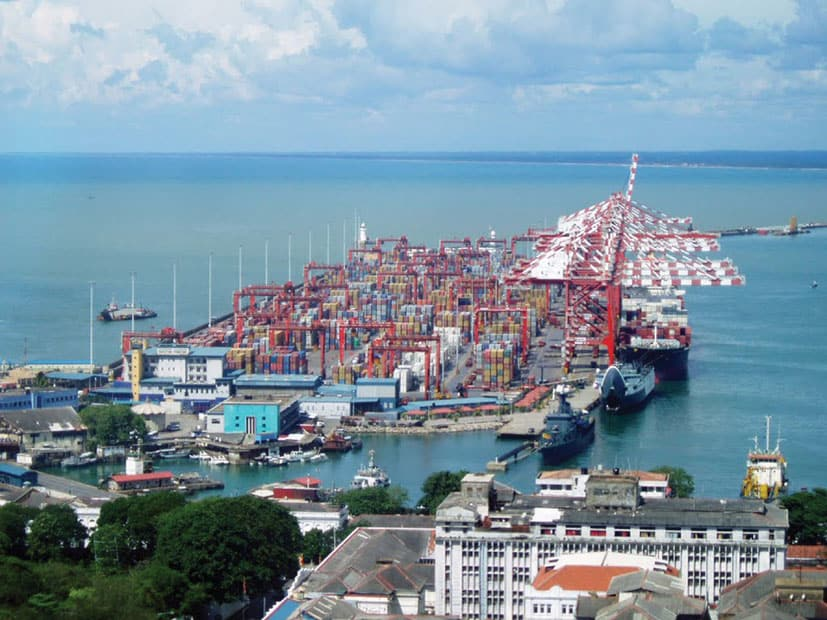 Colombo port to purchase 16 container cranes
