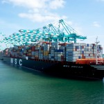 The MSC Oscar is currently the world's largest container ship