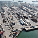 The Kalibaru container terminal is currently under construction