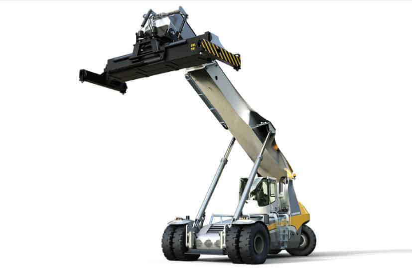 Liebherr Launches its new Pulser reachstacker series