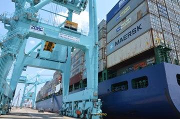 Maersk begins weekly service through Jaxport