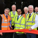 HE Sultan Ahmed Bin Sulayem, chairman of DP World and Robert Goodwill MP, parliamentary under-secretary of state for transport, opened the facility