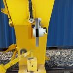 Scanner mounted on gantry