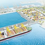 Artist's impression of the East Container Terminal