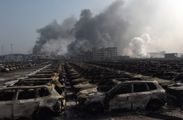 Update: At least 114 dead after Tianjin Port explosion