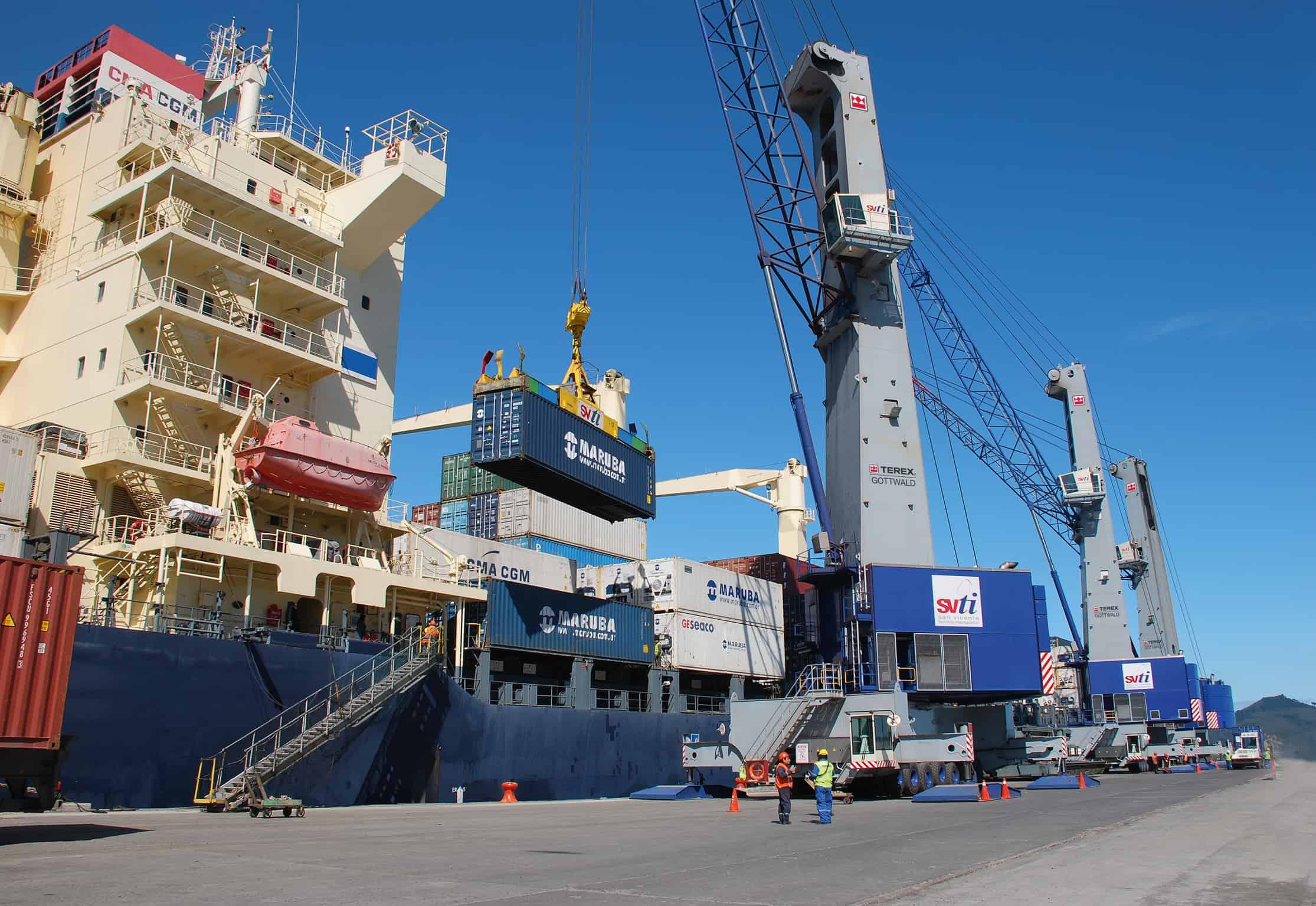 Terex receives mobile harbour crane order in Latin America