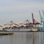 Container traffic increased by 2% in Q2. Credit: Port of Gothenburg.