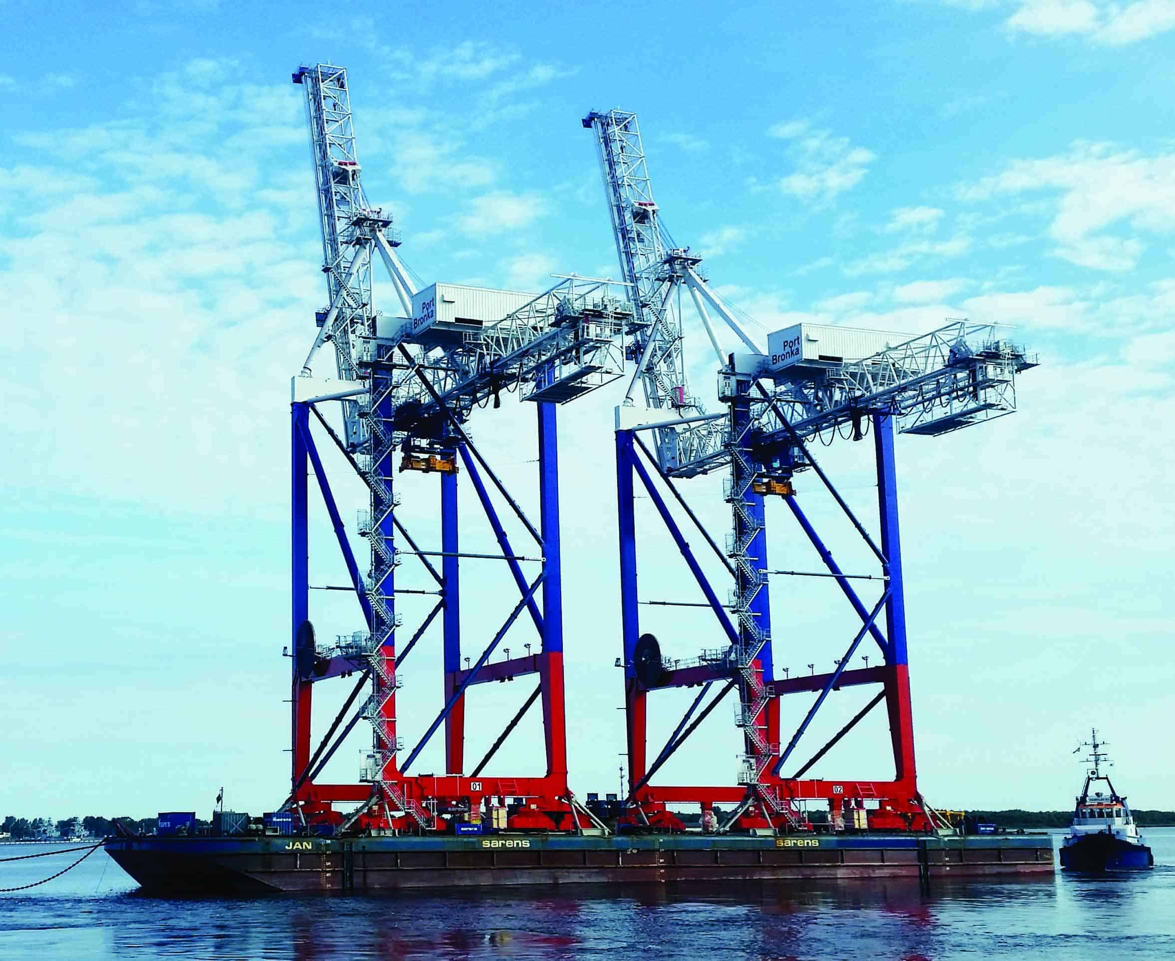 Liebherr set to deliver four STS cranes to Port of Bronka