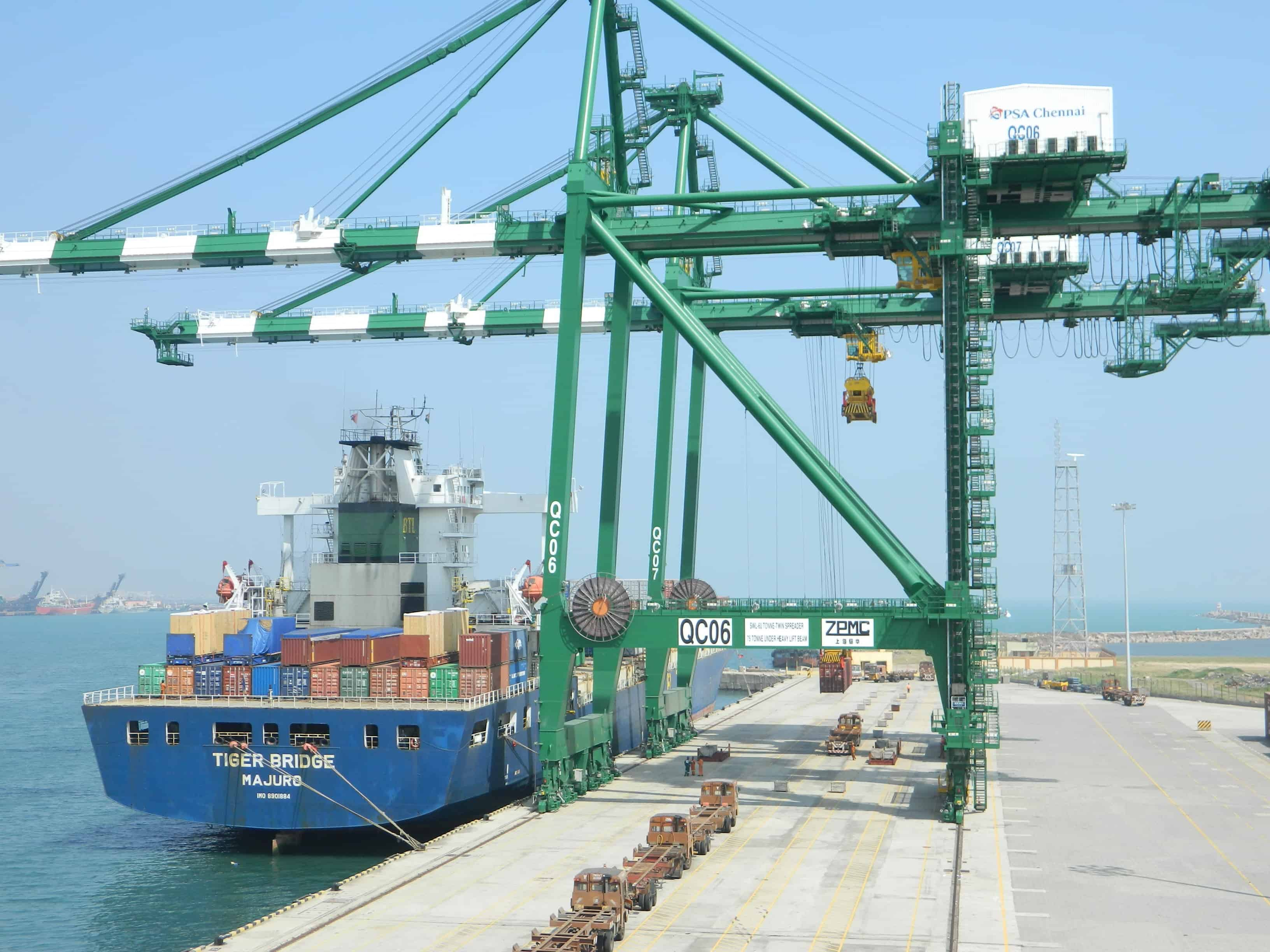 Strike hits Chennai International Terminals | Container Management