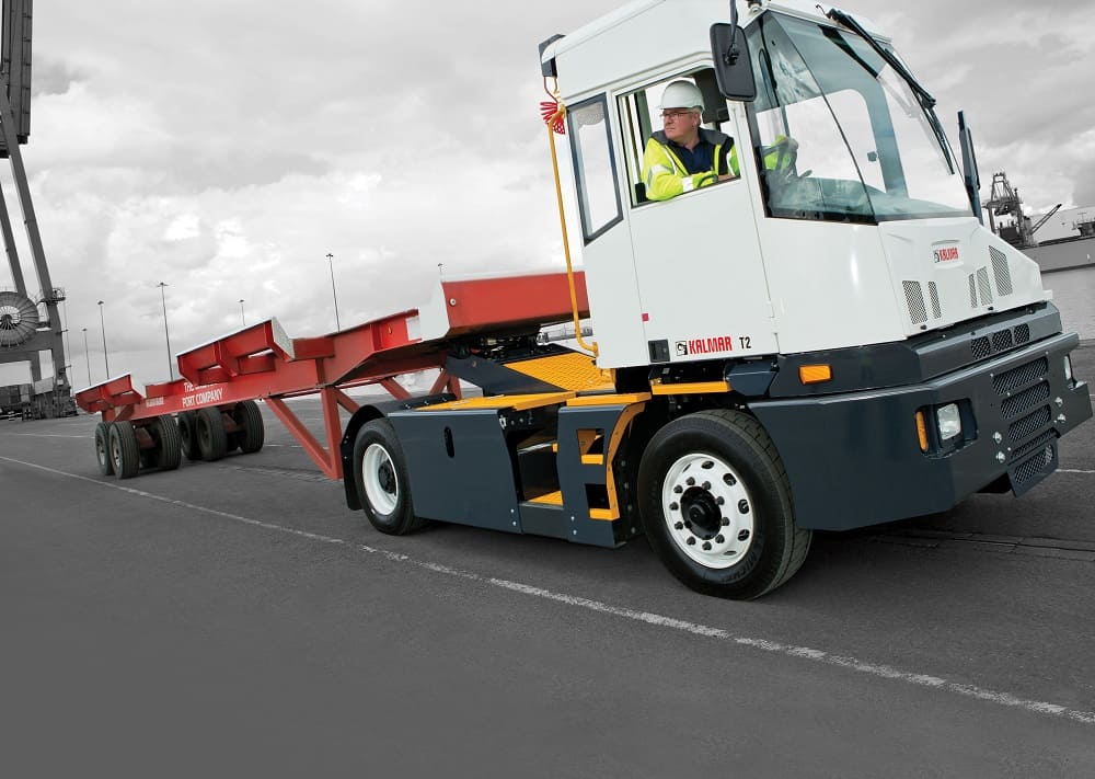 Kalmar launches new T2 terminal tractor