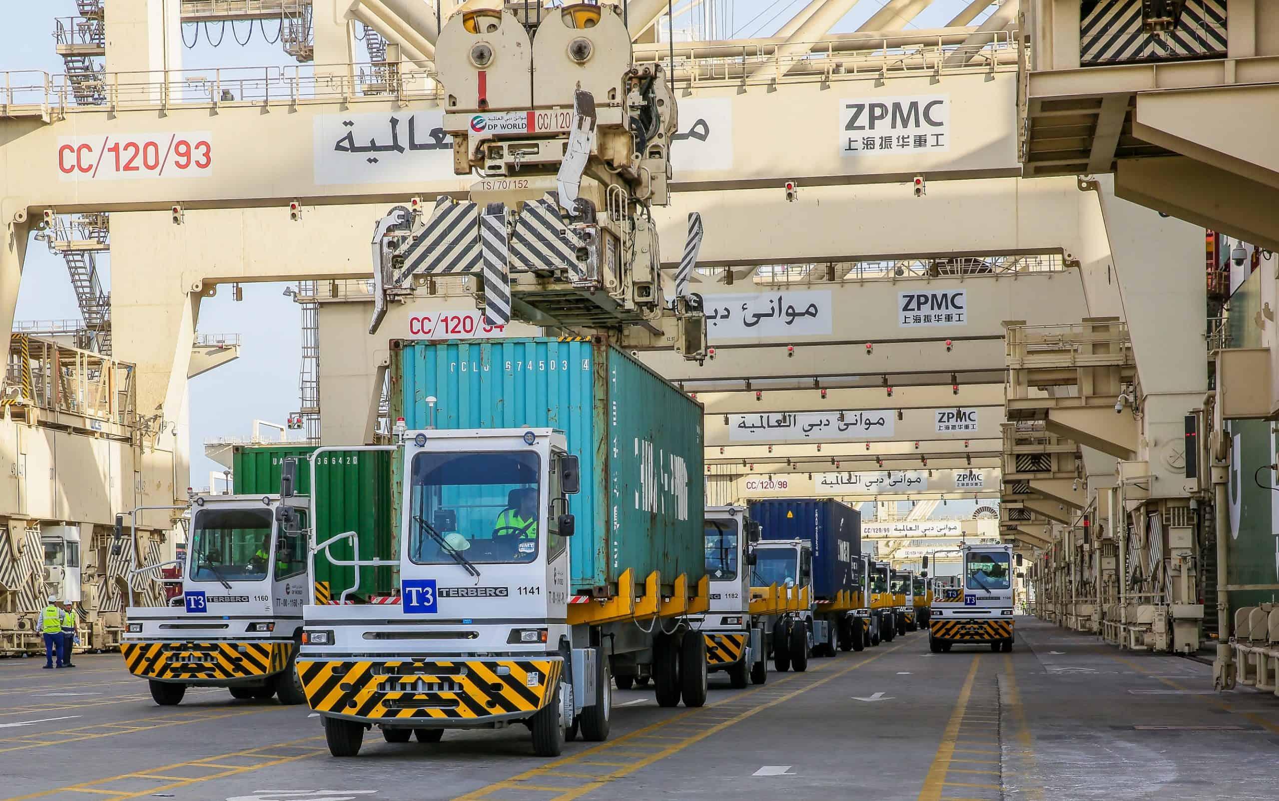 DP World orders 238 Terberg terminal tractors for Jebel Ali