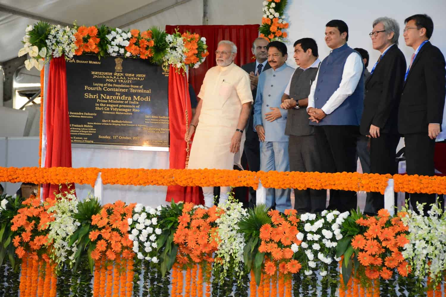 PSA lays foundation stone for new terminal at Jawaharlal Nehru Port in Mumbai