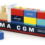 CMA CGM said this is the first maritime-themed wooden toy