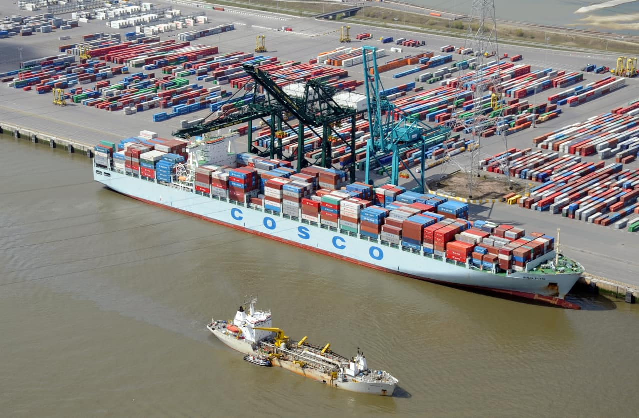 Sea pilots strike hits Antwerp