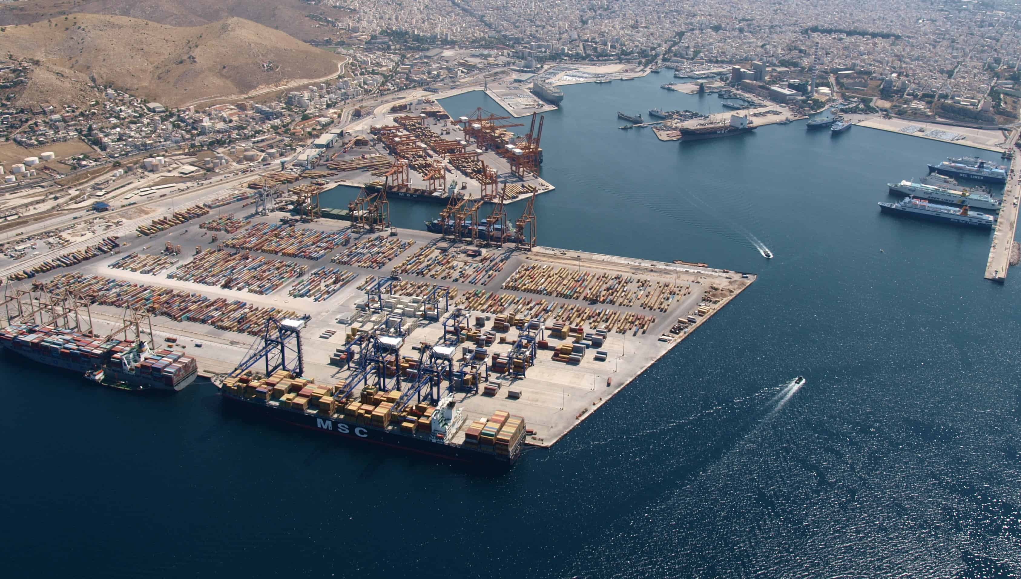 COSCO Pacific is sole bidder for Piraeus Port Authority
