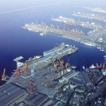 Dalian is the 14th biggest container port in the world