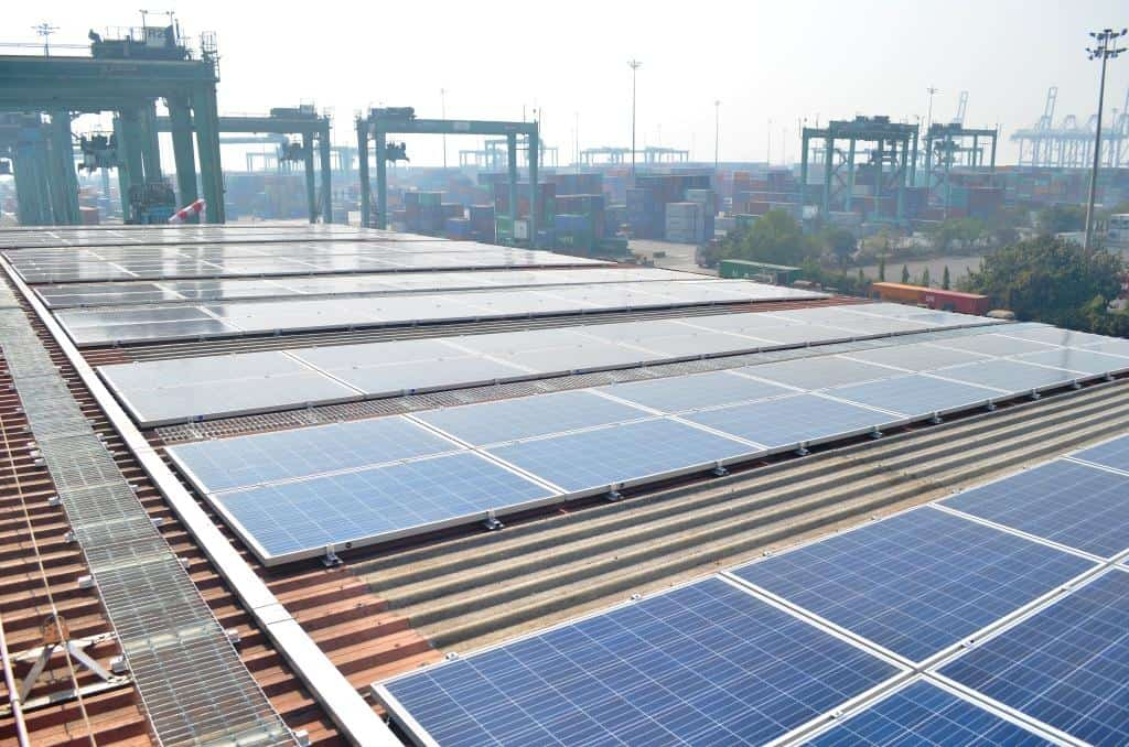 APMT introduces solar power at Mumbai terminal